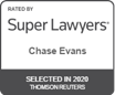 Super lawyer Chase Evans