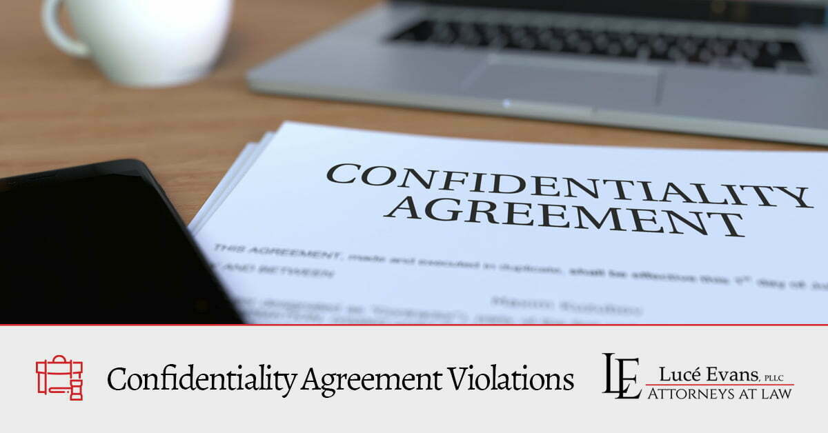 Confidentiality violation lawyer in Collin County.