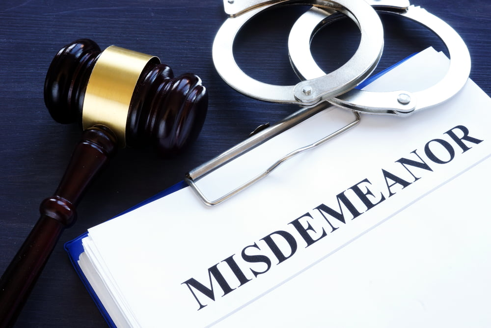 What Are Misdemeanor Offenses